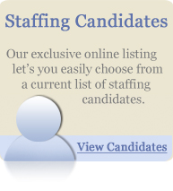 Staffing Candidates